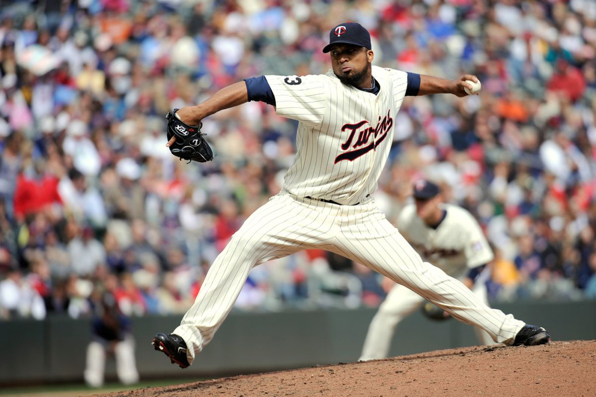 Is the good Liriano back?  At least you won't have to pay much to find out..