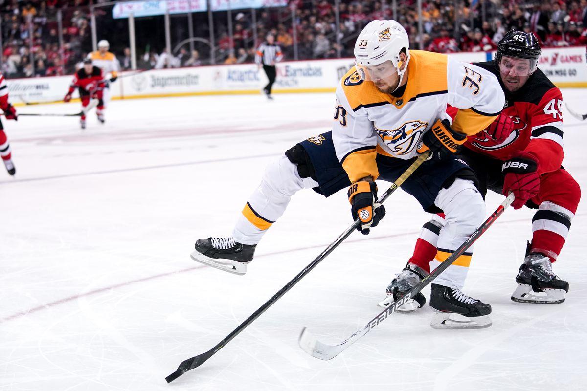 NHL: JAN 30 Predators at Devils