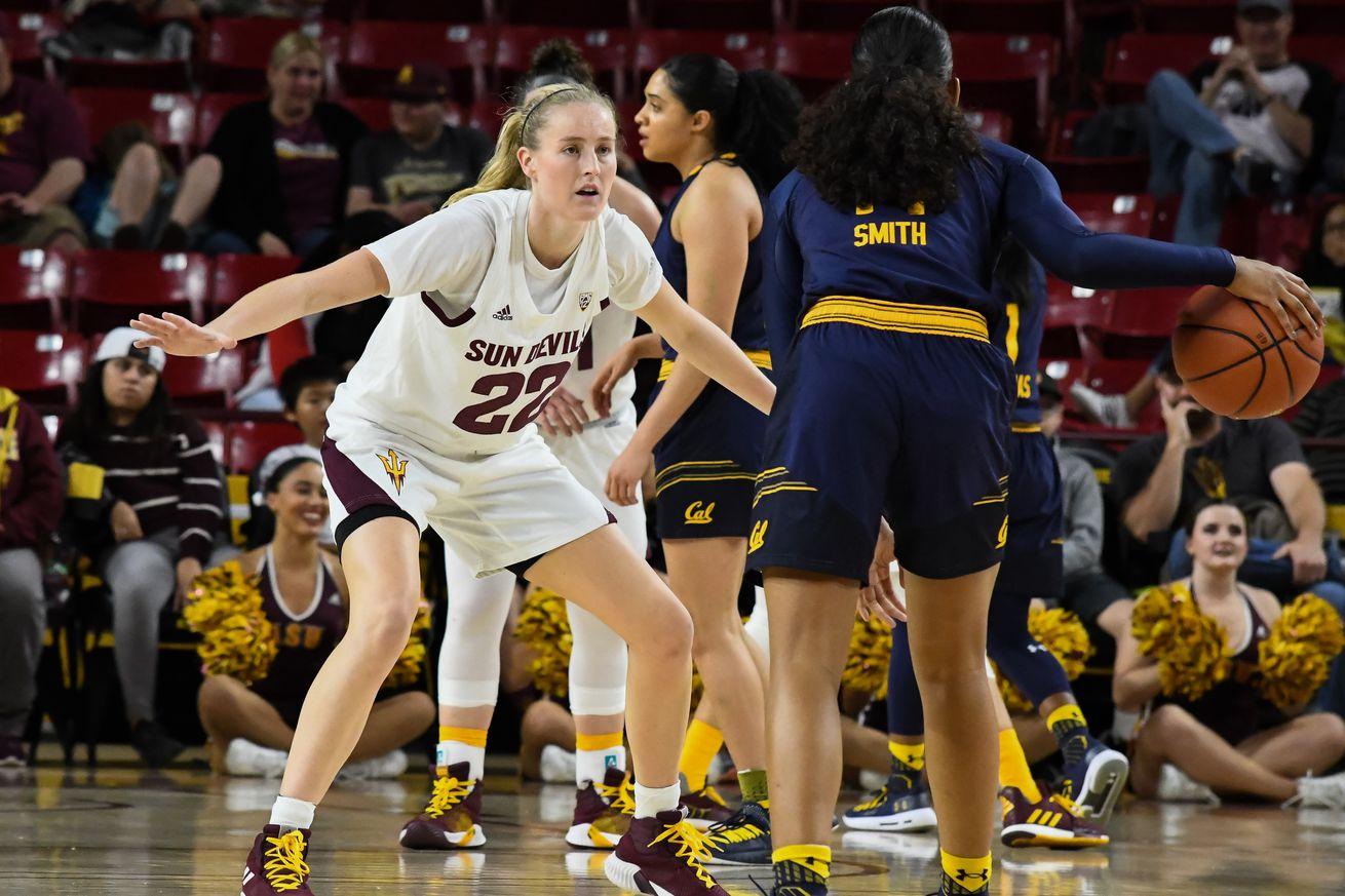 ASU Women's Basketball: No. 19 ASU set for two top-10 matchups in Oregon