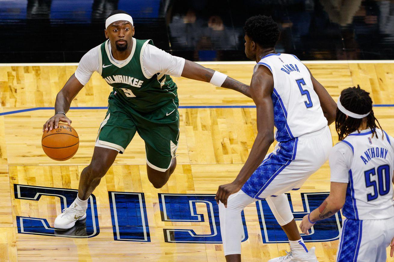 NBA: Milwaukee Bucks at Orlando Magic