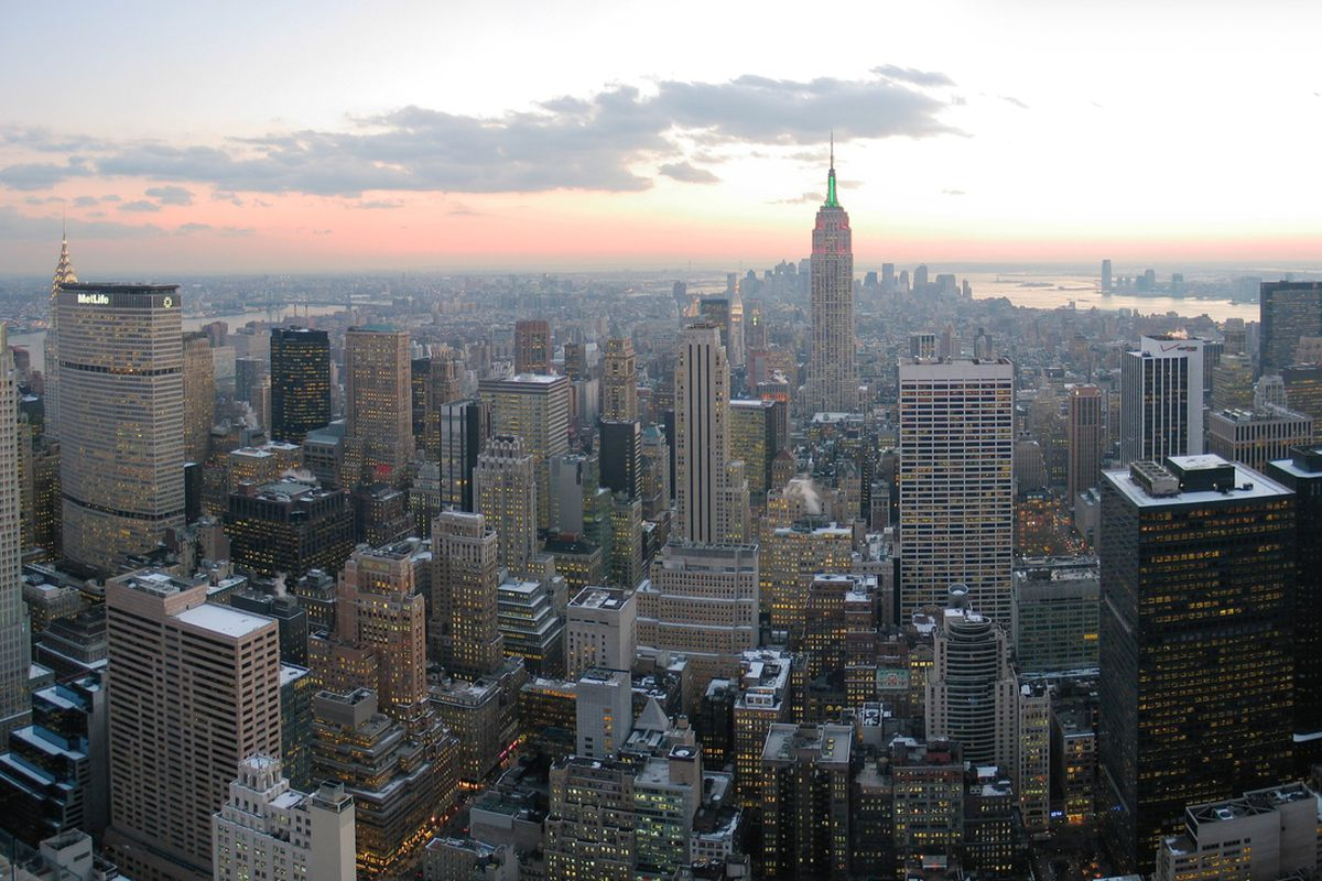 """New York City is a big city but is it ready for a second MLS team? <a href=""""http://commons.wikimedia.org/wiki/File:NYC_wideangle_south_from_Top_of_the_Rock.jpg"""" target=""""new"""">Photo by Wikipedia Commons</a>"""