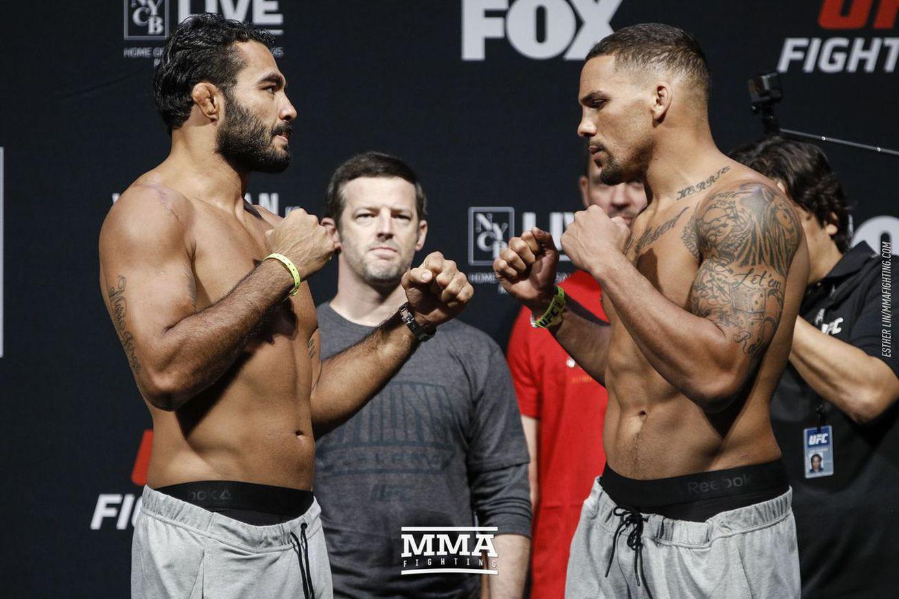 Knockout! Watch Eryk Anders sleep Rafael Natal with devastating strikes at UFC on FOX 25