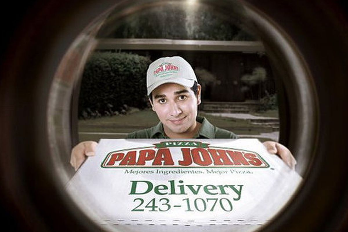 this is an old papa johns ad this is not the guy in question photo liveu4 flickr