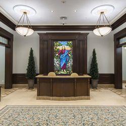 Entrance into the Cedar City Utah Temple.