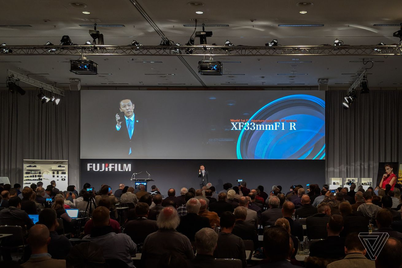 fujifilm announces world s first f 1 lens with autofocus