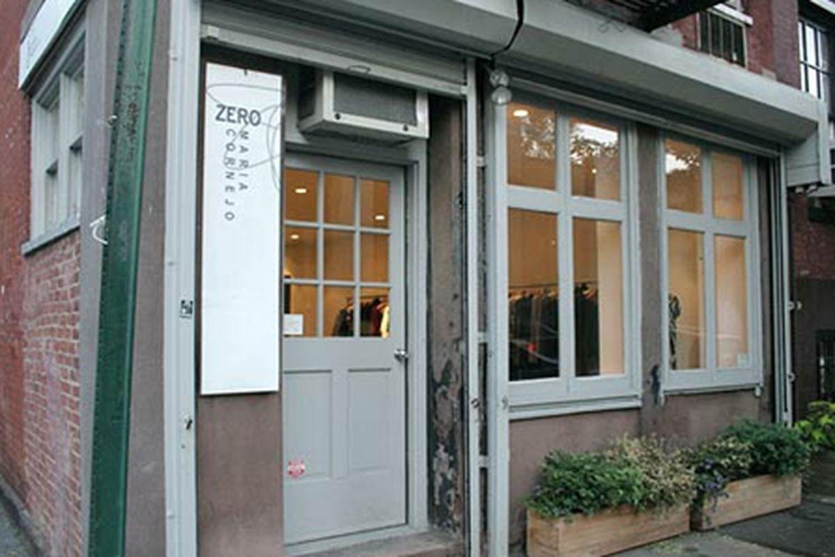 "Zero + Maria Cornejo at 807 Greenwich Street, via <a href=""http://nymag.com/listings/stores/zero-maria-cornejo02/"">NY Mag</a>"