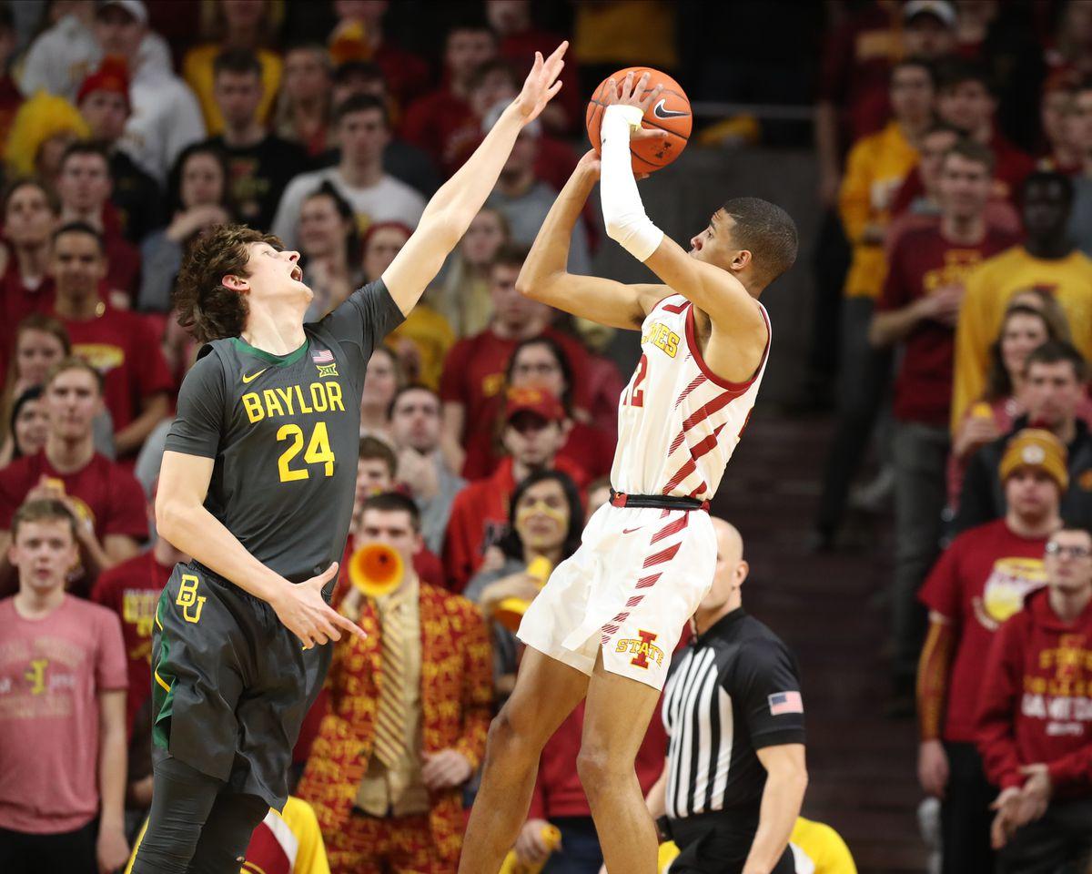NCAA Basketball: Baylor at Iowa State