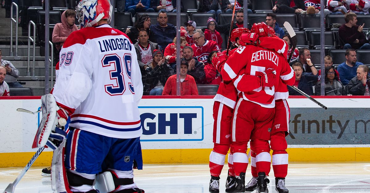 Wings vs. Habs: Updates, Projected Lineups, Keys to the Game