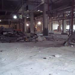 Demolition of Presidential Market in Presidential Towers