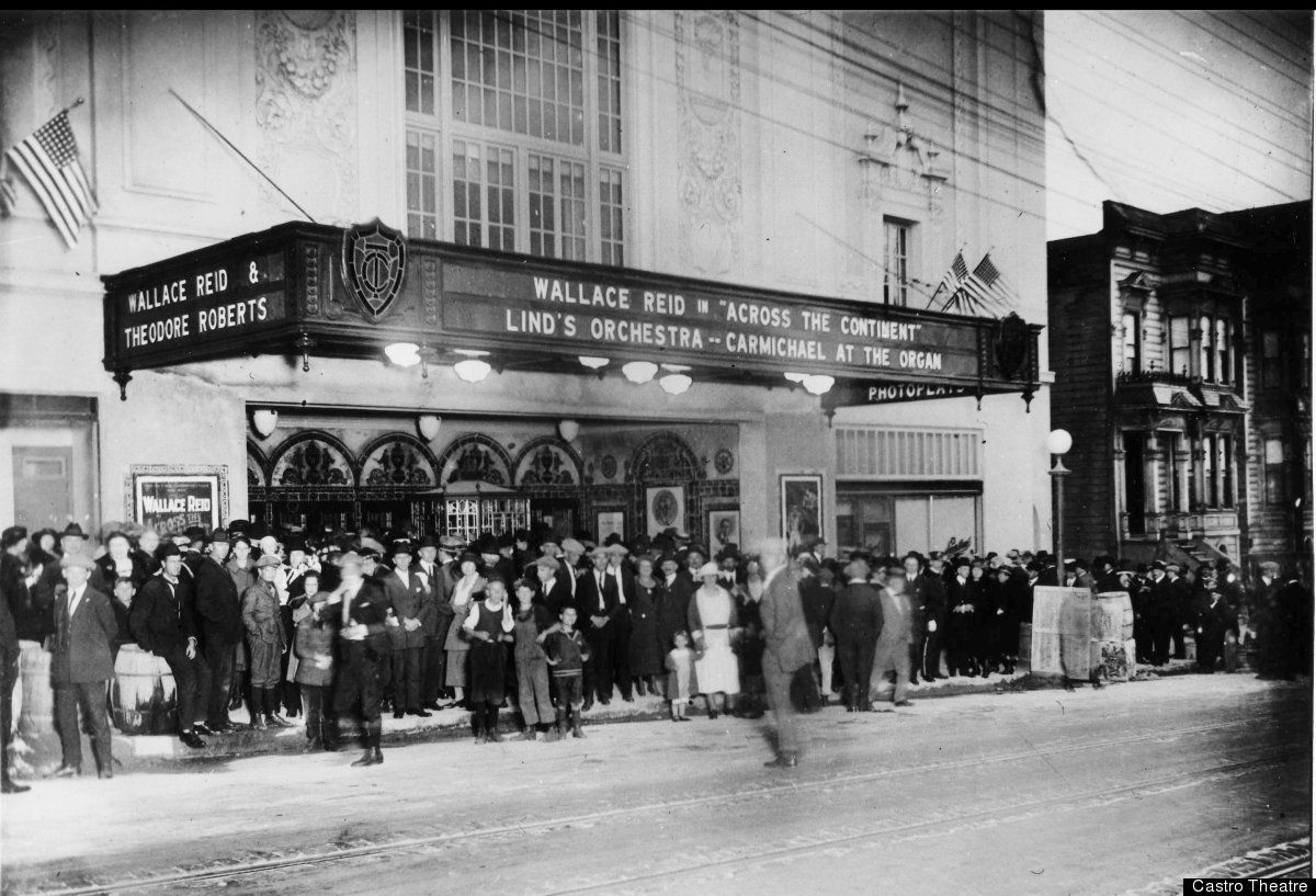 Opening night at the Castro on June 22, 1922.