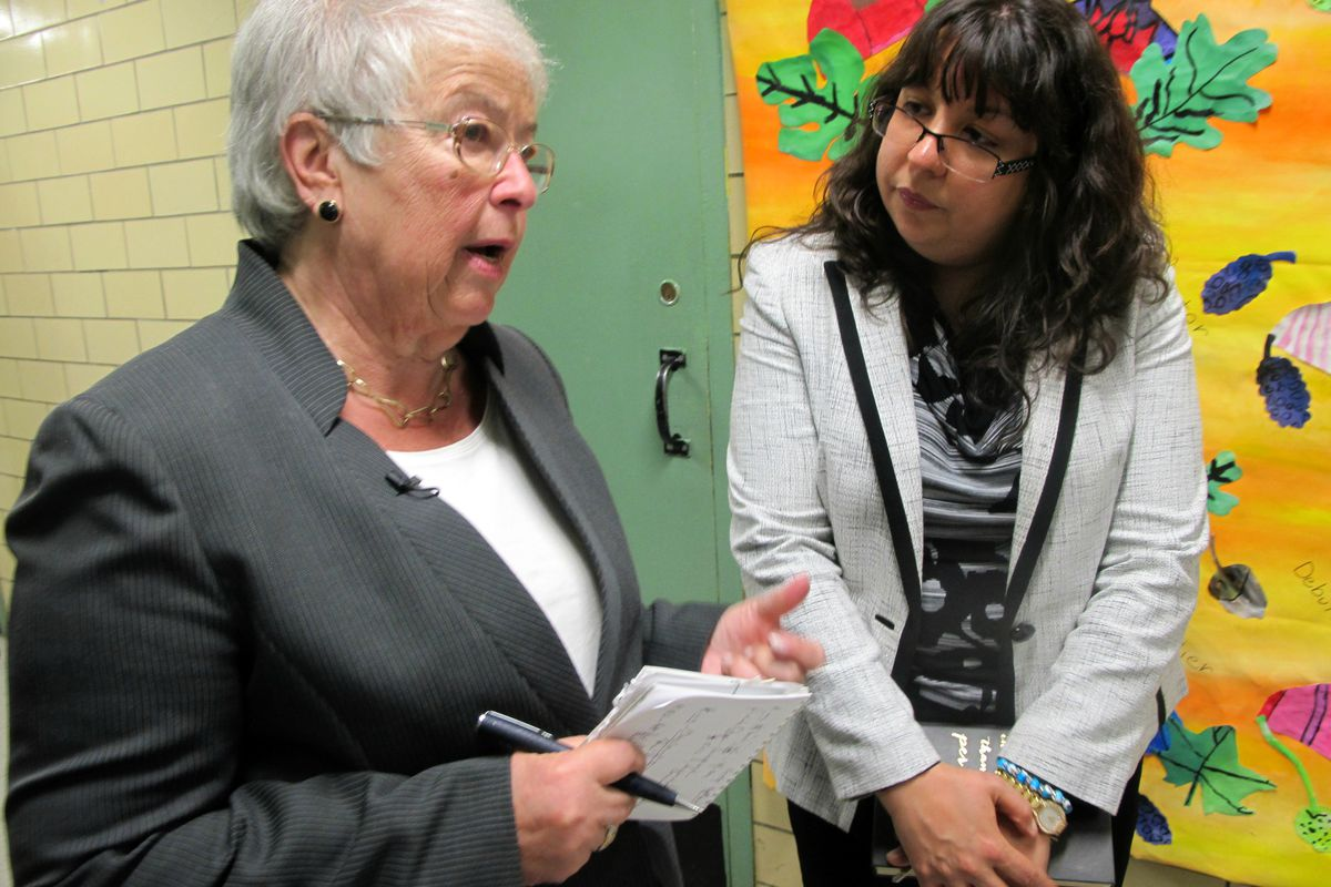 Chancellor Carmen Fariña is preparing to step down in the coming weeks.