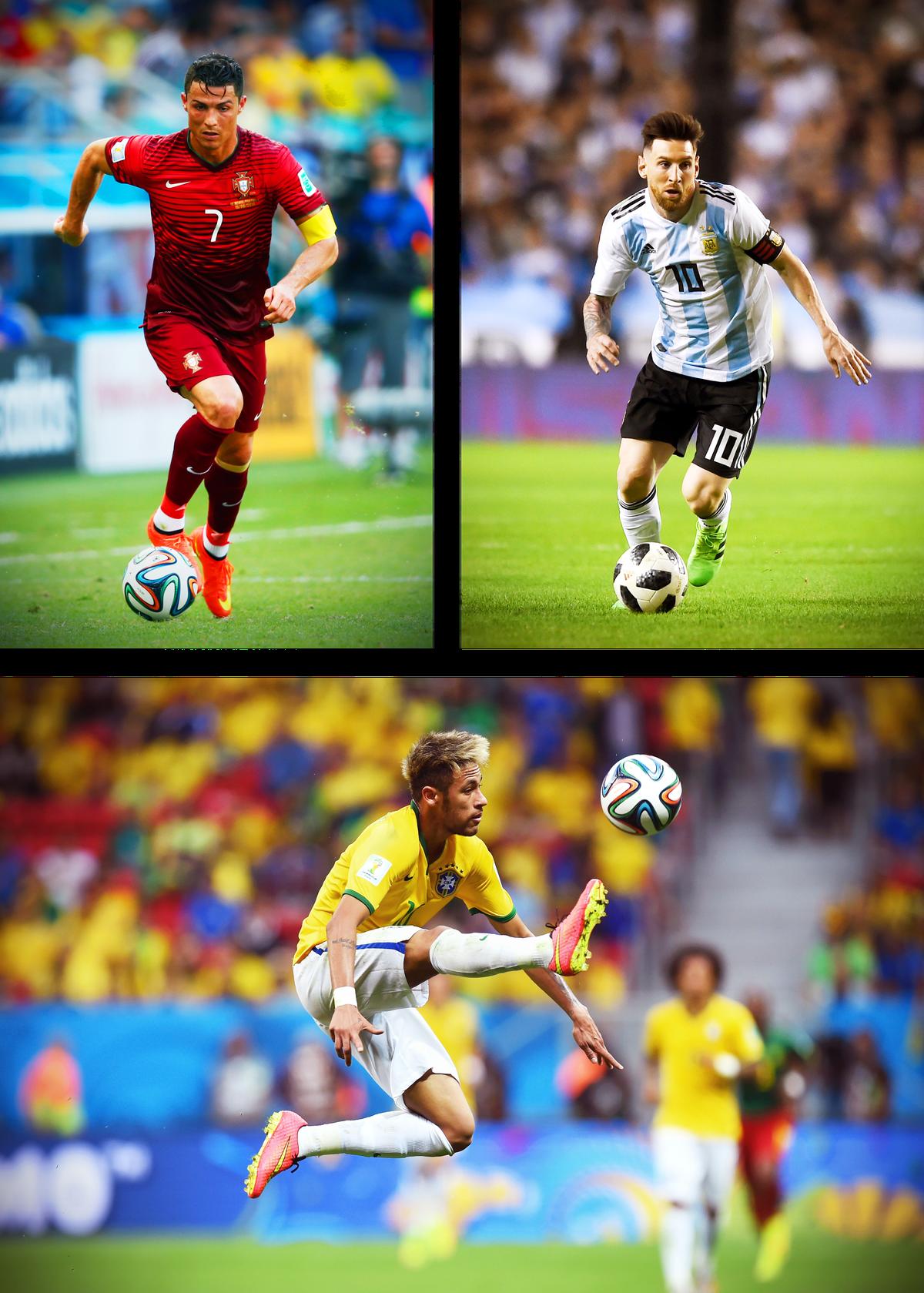 ac18fd366258 Christiano Ronaldo (top left)
