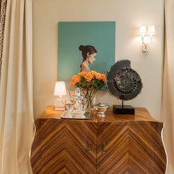"""The master bedroom. [Photo by <a href=""""http://www.patriciachangphotography.com/"""">Patricia Chang</a>]"""