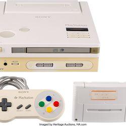 Nintendo Play Station Prototype