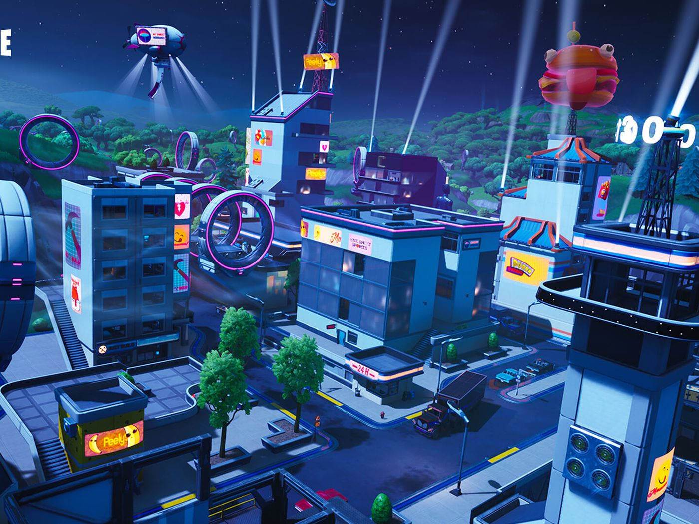 Fortnite Season 9 Adds Wind Tunnels And A Rebuilt Tilted