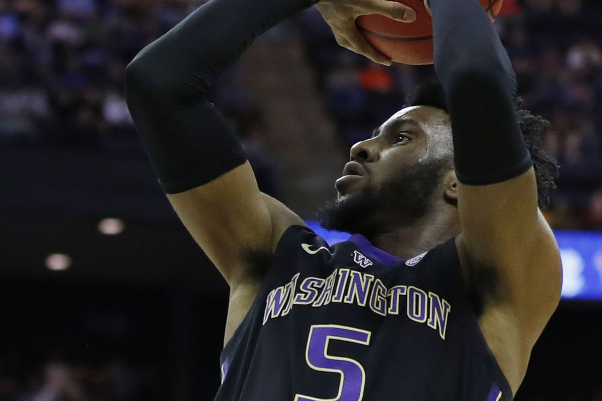 reputable site d15e0 6c2a9 Washington's Jaylen Nowell is a . Former Husky Selected by ...