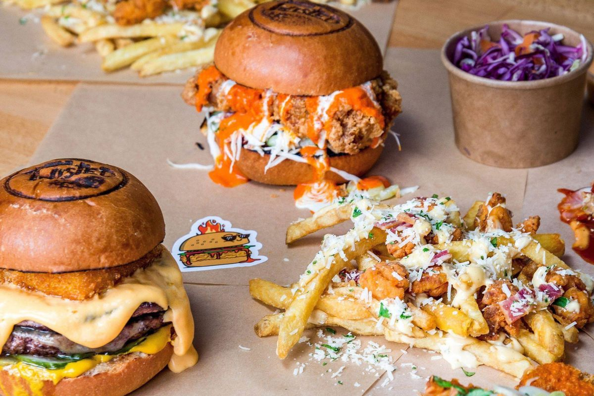 Twisted London's burgers will arrive at Market Halls West End