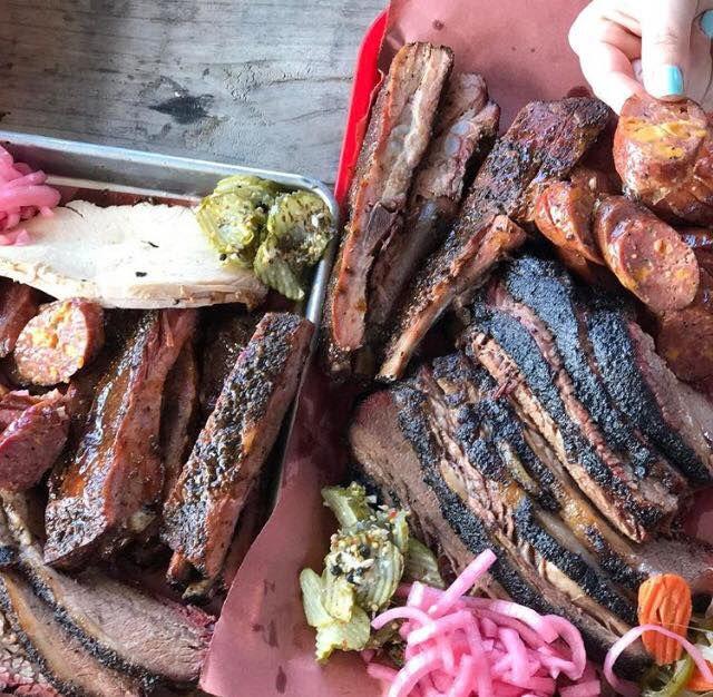 Truth BBQ's barbecue