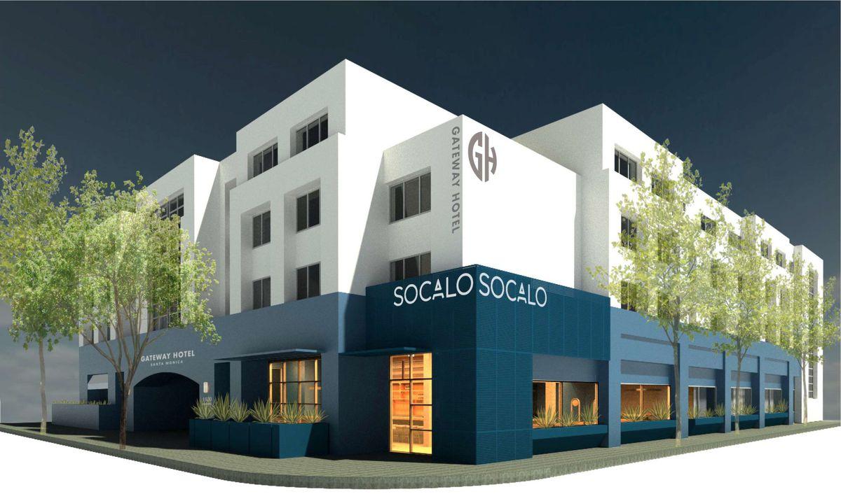 Socalo, Santa Monica