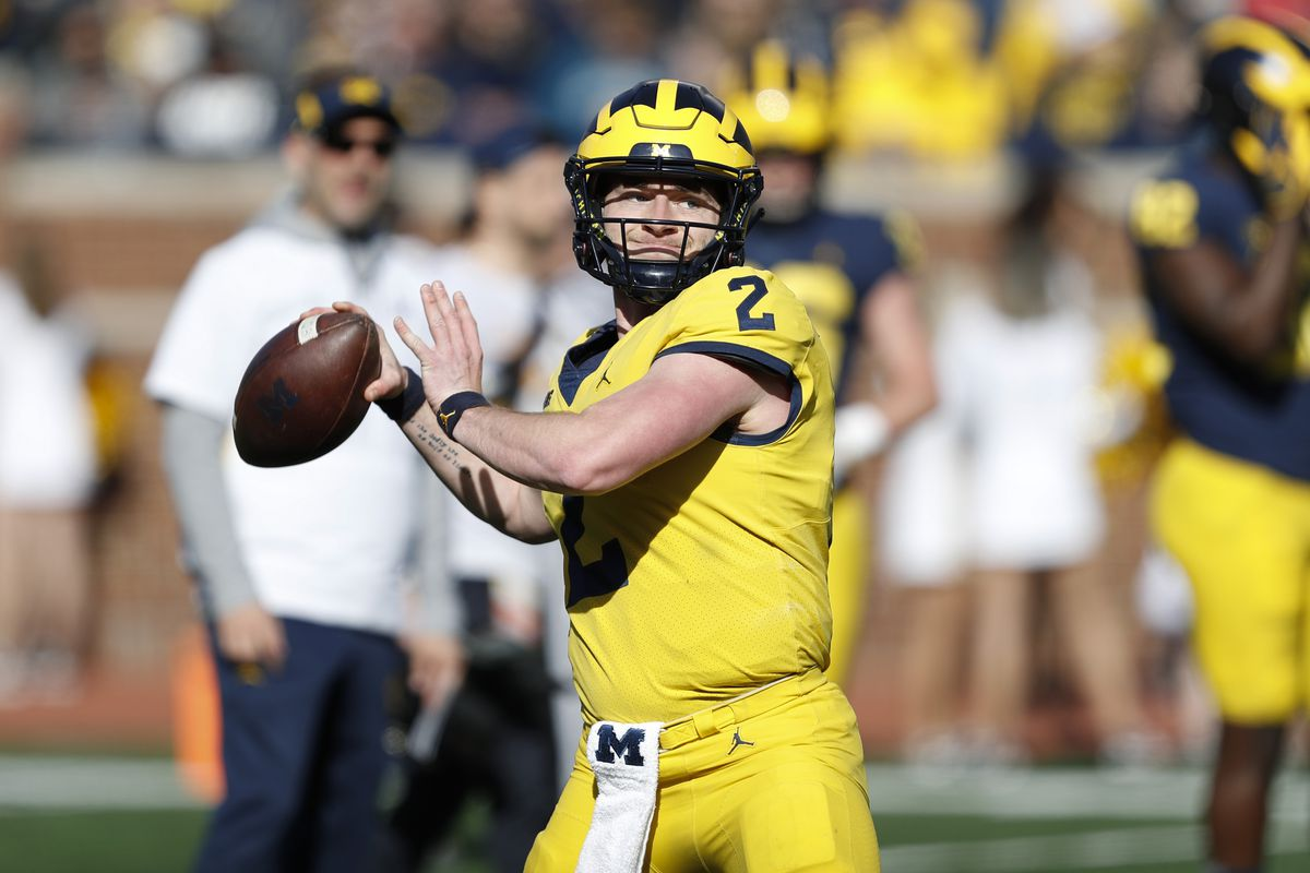 Out of the Blue Michigan football podcast Franz Illinois