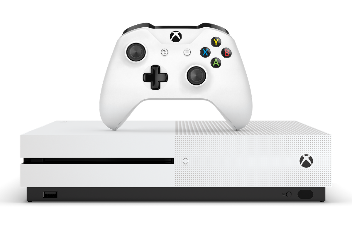 xbox one s front