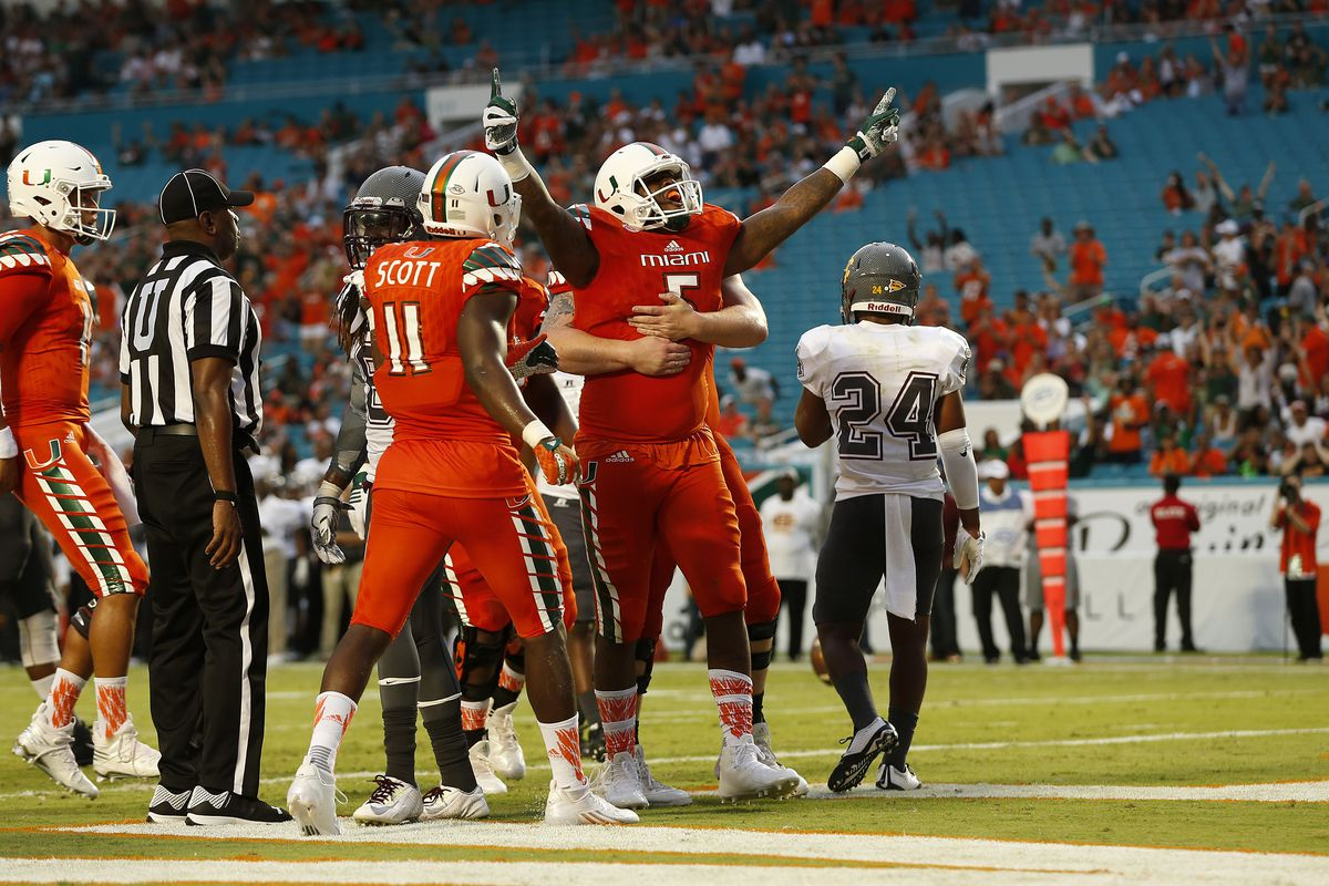 Miami Hurricanes Football 2016 Position Preview Tight Ends State
