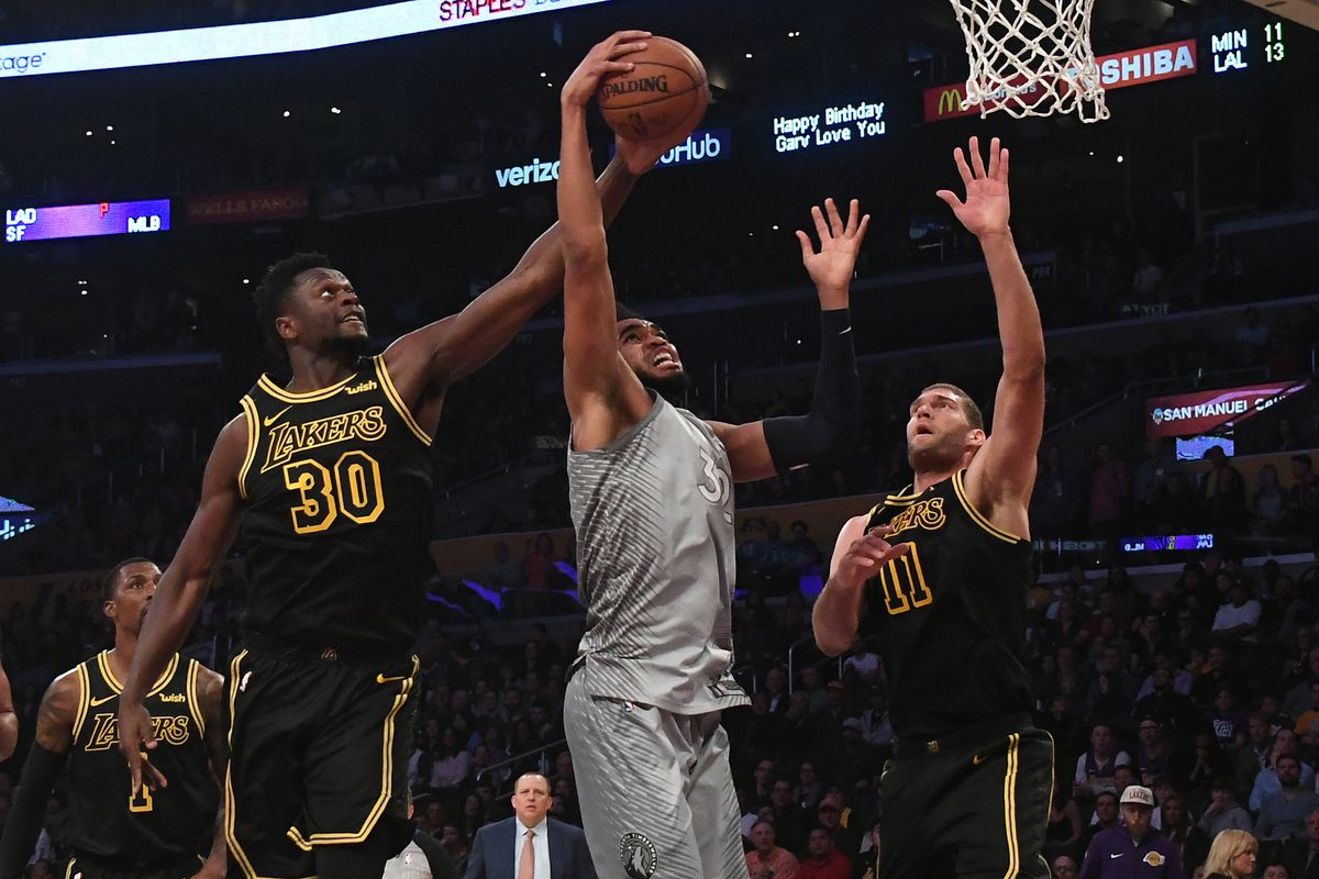 Lakers Swept By Timberwolves For First Time In Franchise History