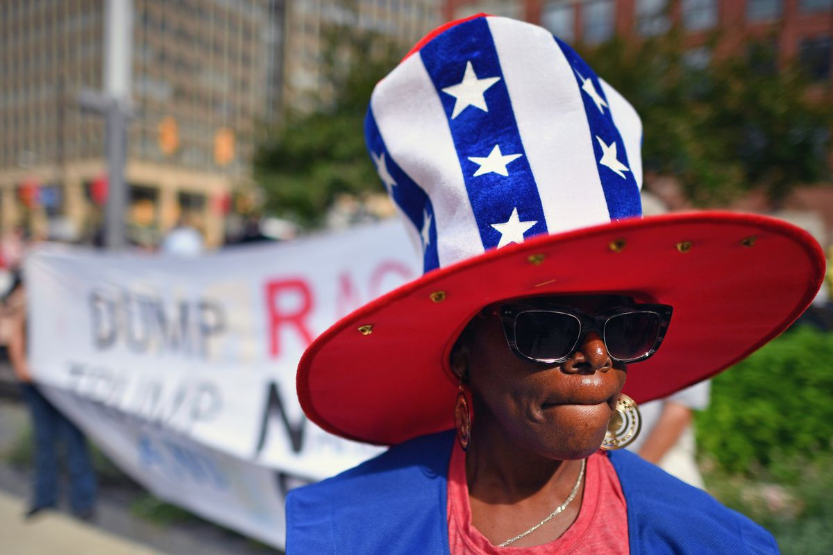Protestors Rally Outside Republican National Convention In Cleveland