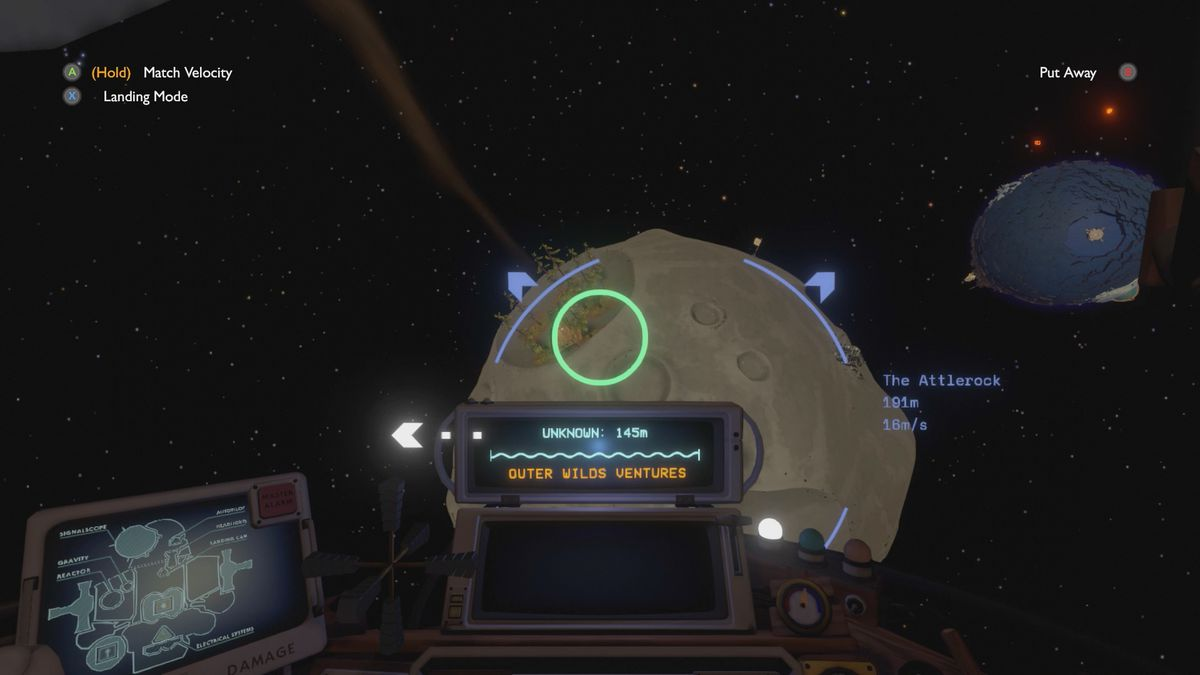 Outer Wilds The Attlerock Esker's Camp