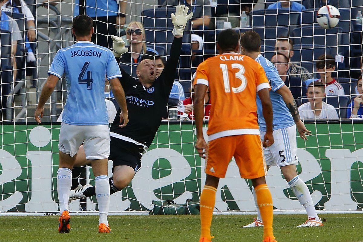 MLS: Houston Dynamo at New York City FC
