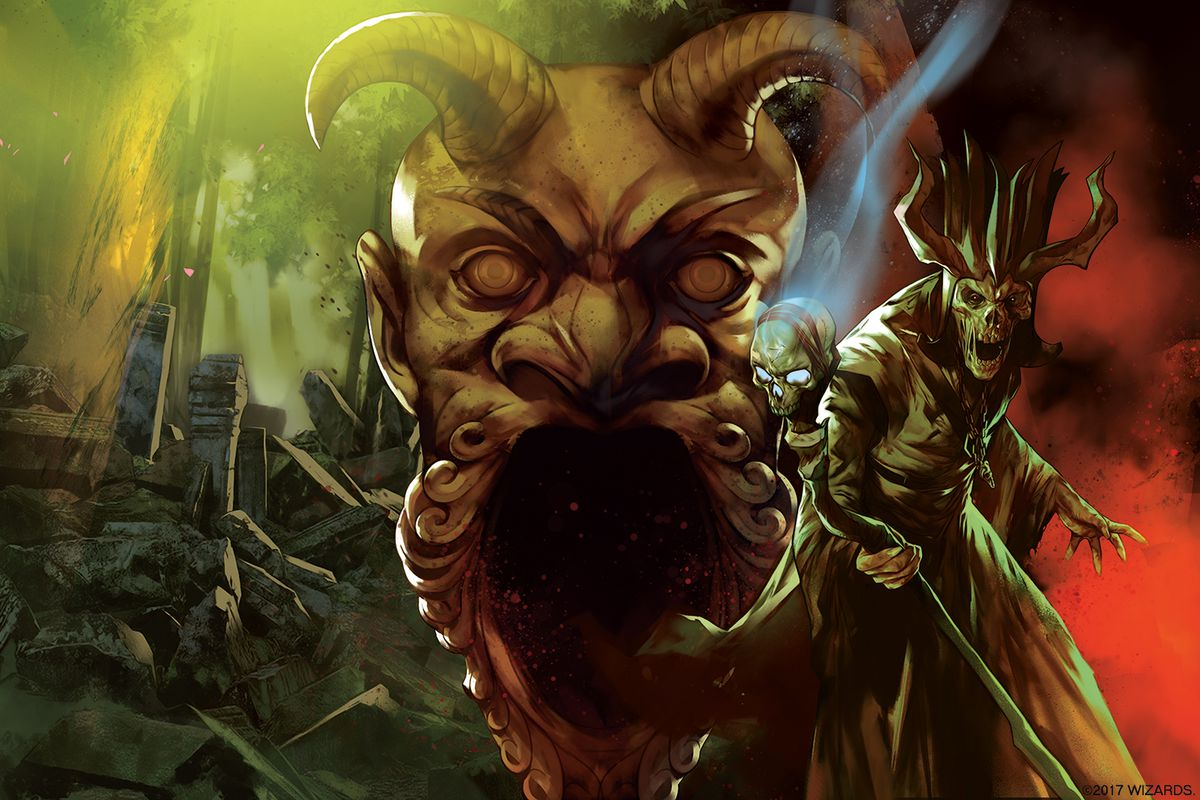 Dungeons and Dragons Tomb of Annihilation cover artwork