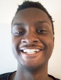 Elijah Elvin, a student at Brooklyn Technical High School.