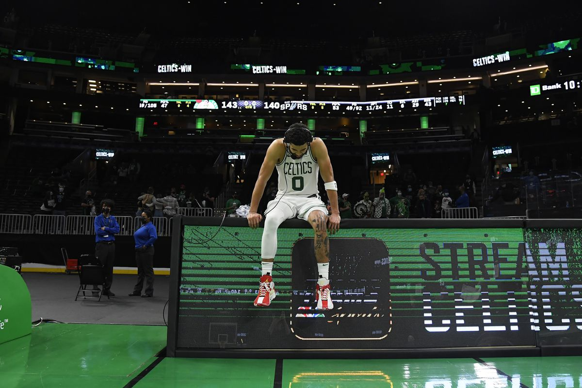 San Antonio Spurs v Boston Celtics