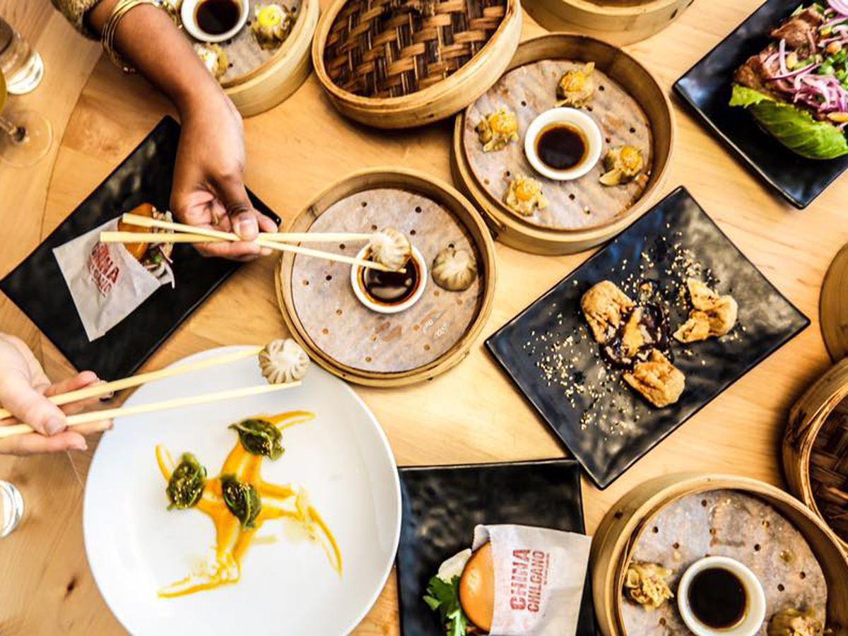 An array of Peruvian-Japanese dishes at China Chilcano.