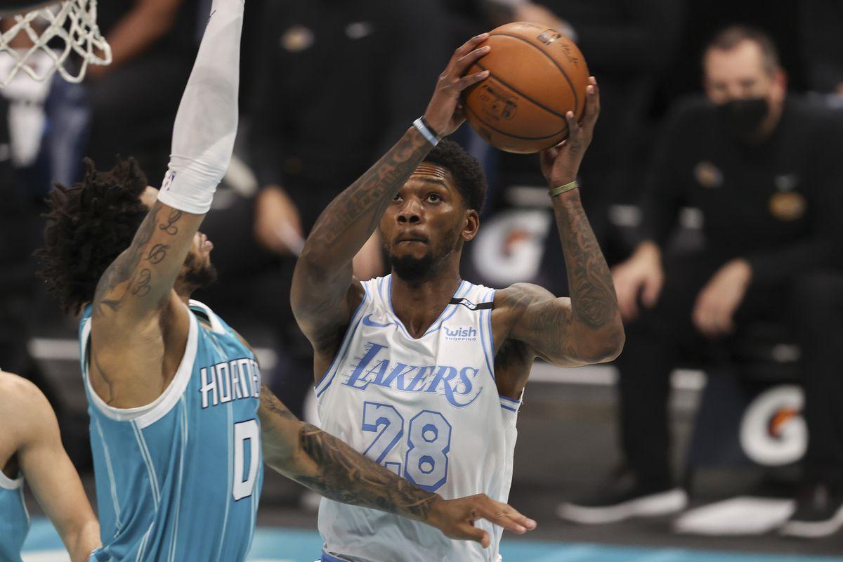 NBA: Los Angeles Lakers at Charlotte Hornets