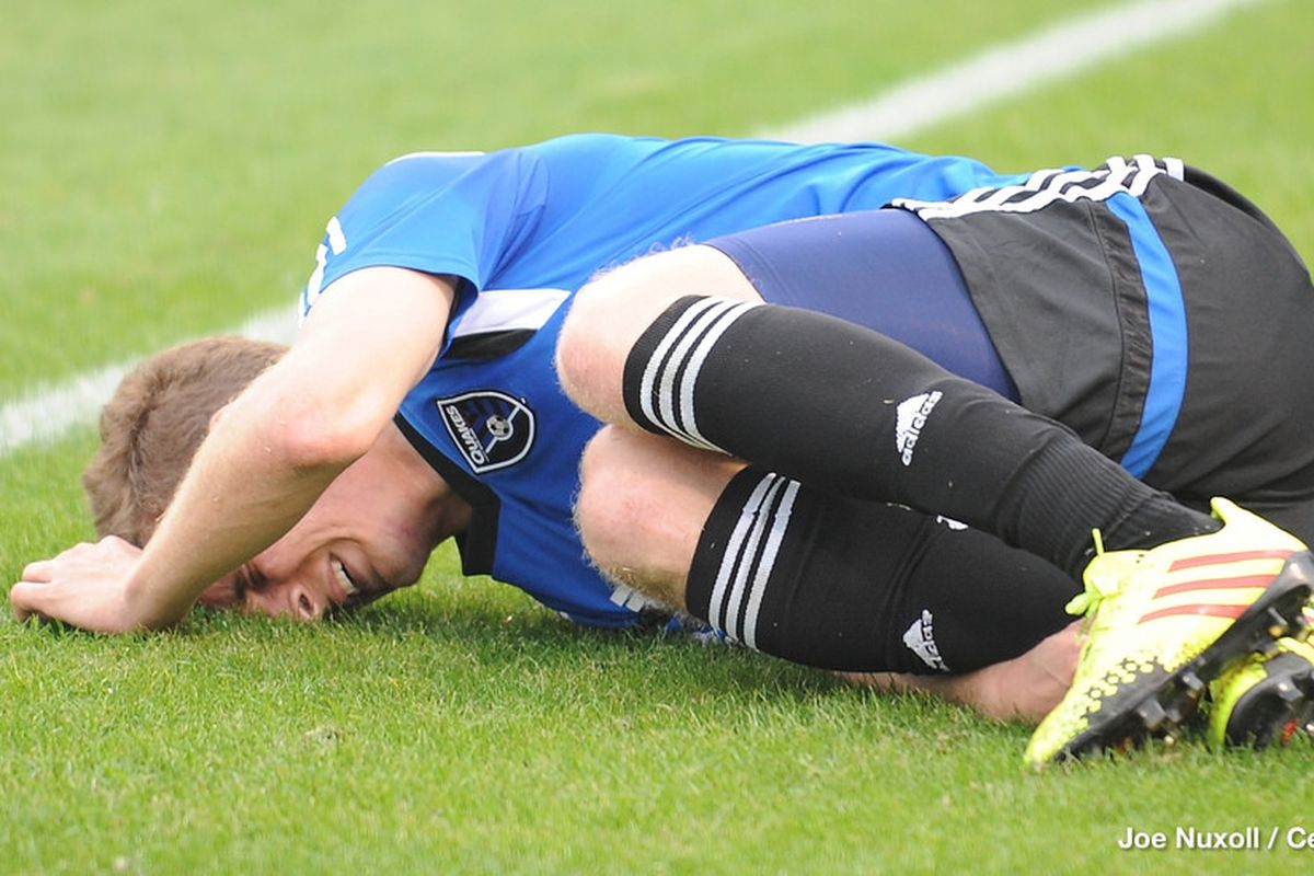 Sam Garza, the last lofty draft pick of the Quakes, had a rough go of it in MLS