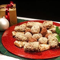 Chocolate Almond Balls and Our Favorite Toffee