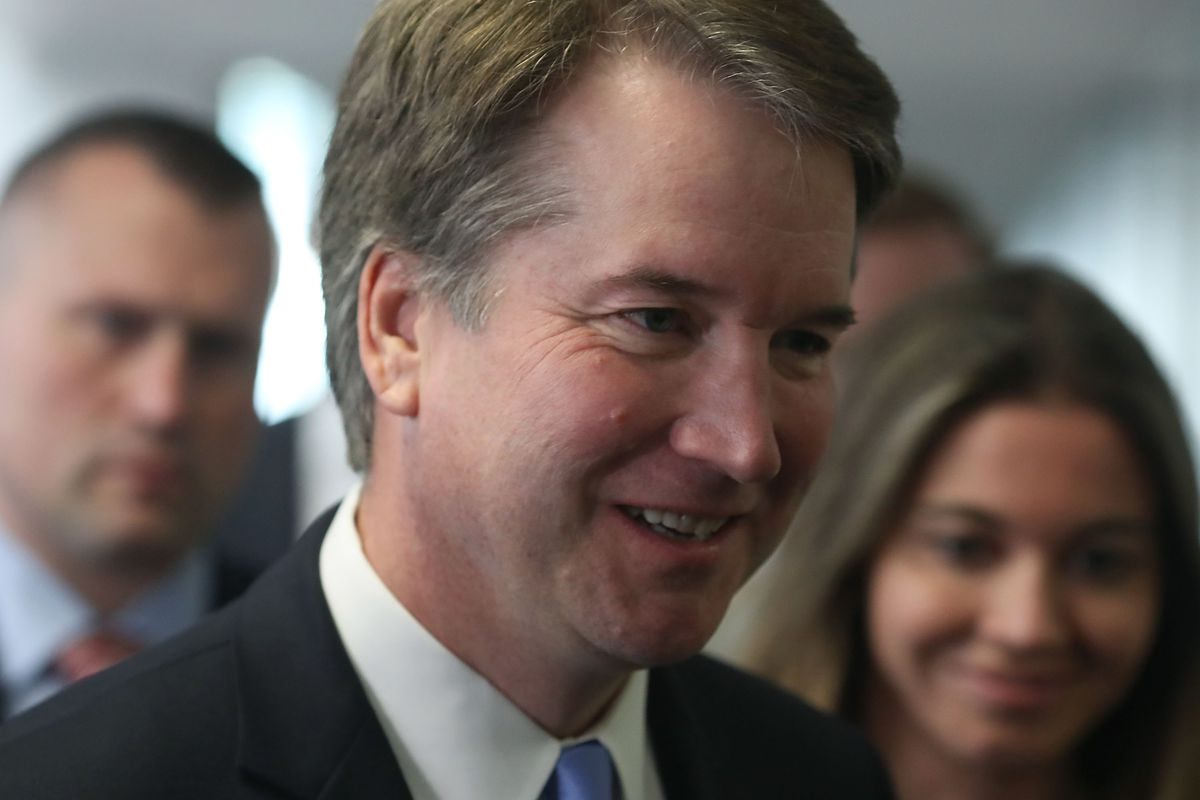 Supreme Court Nominee Brett Kavanaugh Meets With Lawmakers On Capitol Hill