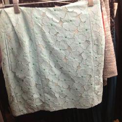 <b>Diane von Furstenberg</b> lace skirt, $109 (from $285)