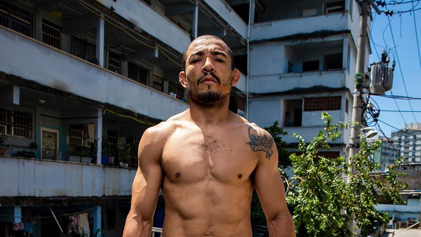 Pic: Jose Aldo is suddenly JACKED, will crush Alexander Volkanovski with Brazilian biceps