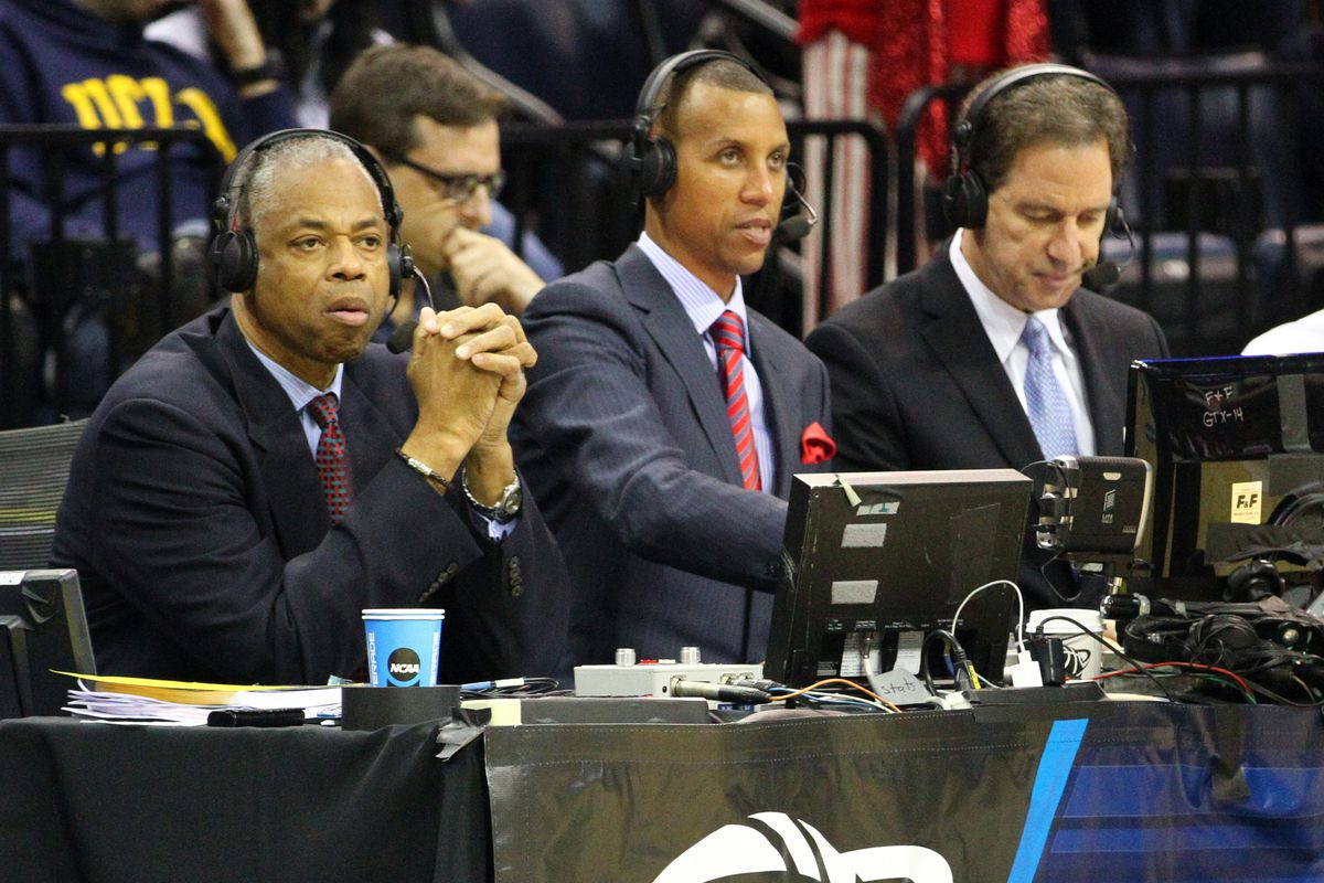 The legendary Reggie Miller now is a broadcaster on TNT