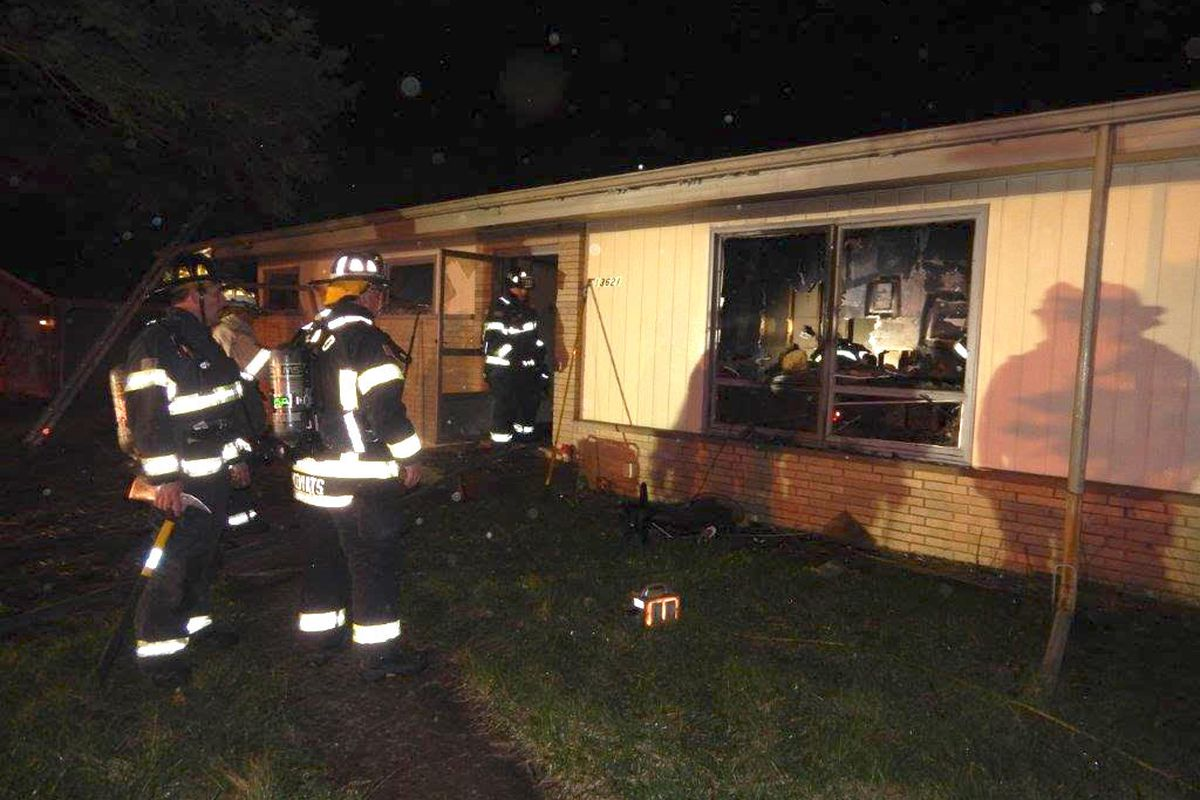 Firefighters responded April 12, 2020, to a fire in the 13600 block of Howe Drive in Orland Park.