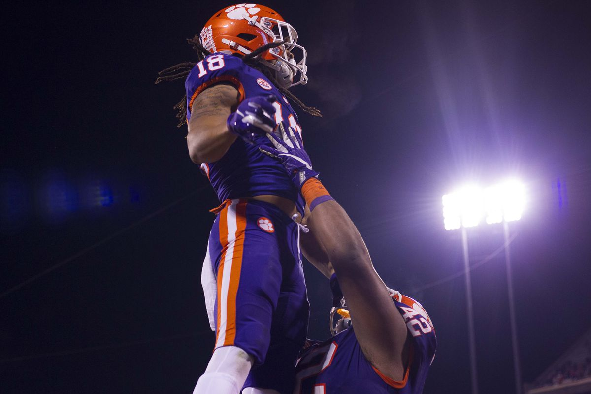 Game 9 Preview Clemson Hosts Wofford For Military