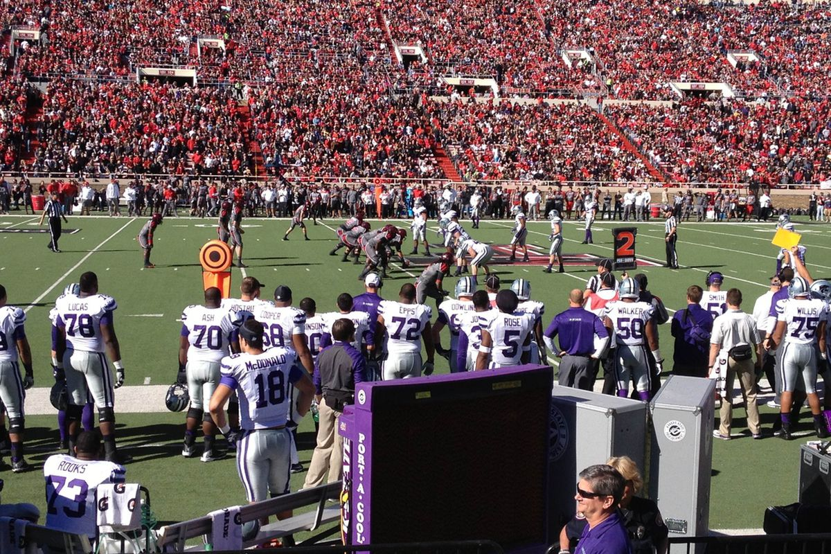 Tech driving against K-State
