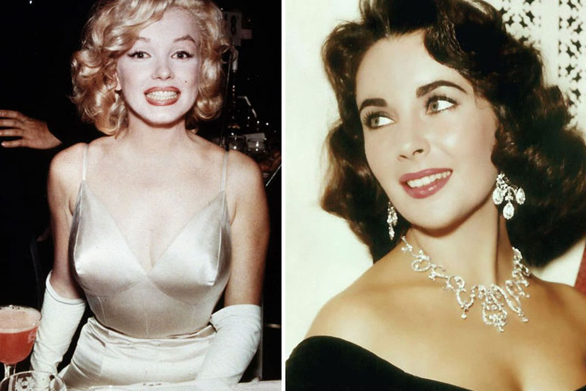 """Images at auction via <a href=""""http://nymag.com/thecut/2013/03/unseen-vintage-photos-of-marilyn-liz-and-more.html"""">The Cut</a>"""