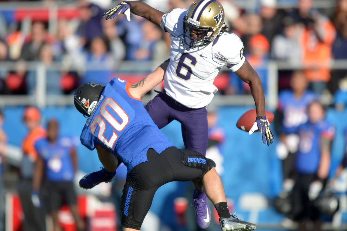 The NFL Combine is the only thing standing in the way of Washington's Desmond Trufant and a top-12 draft selection this April.