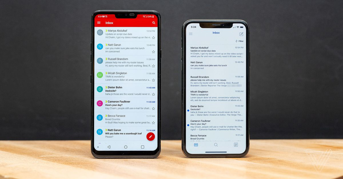 The Best Email App For Ios And Android The Verge