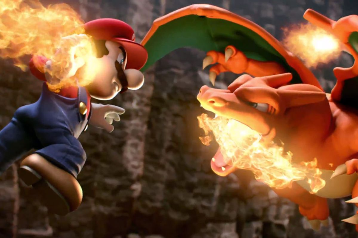 Pokemon Charizard And Greninja Join Super Smash Bros