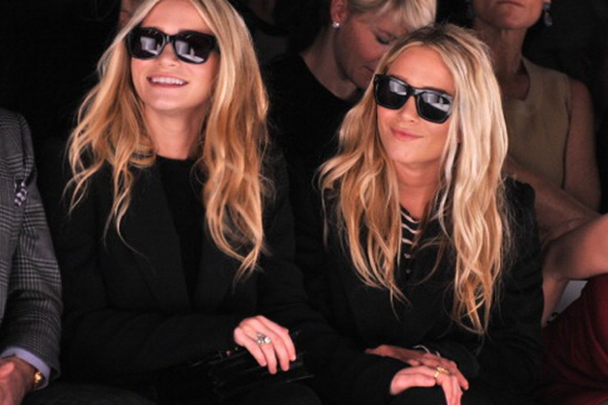 Womenswear Designer of the year nominees Mary Kate and Ashley Olsen, via Getty Images