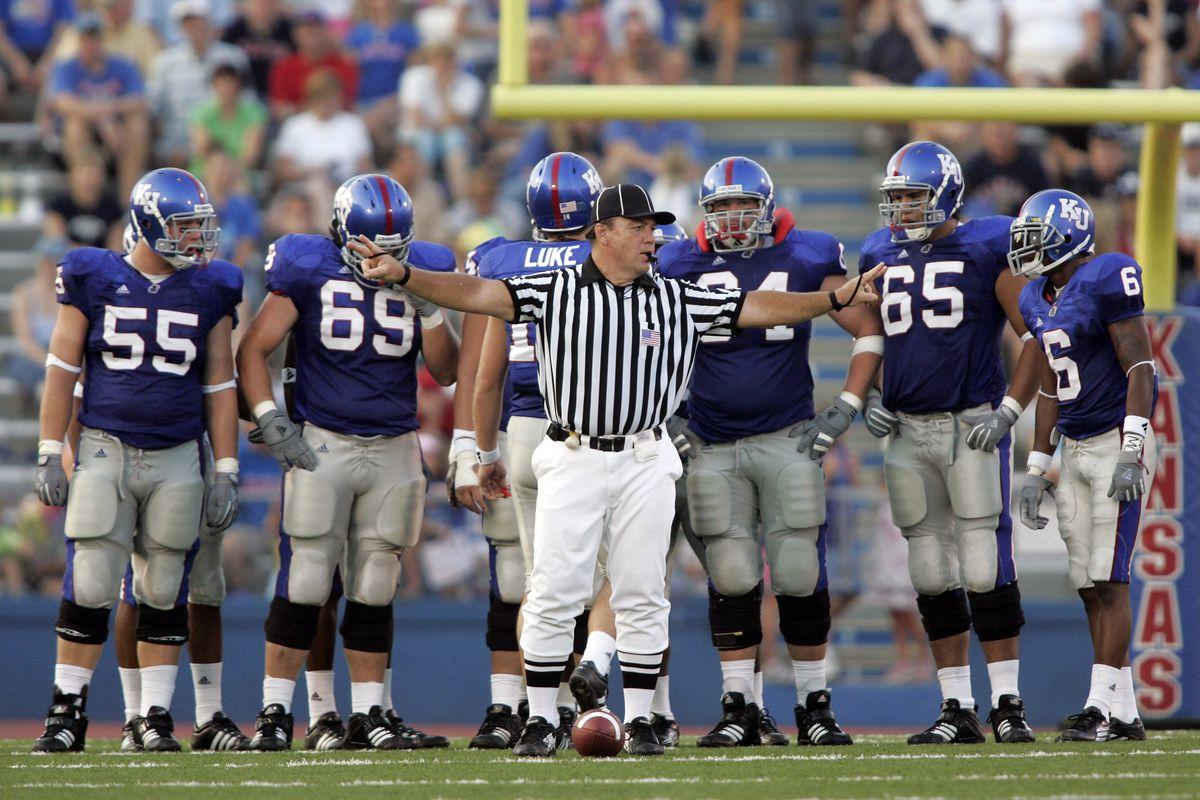 NCAA Football - Florida Atlantic  vs Kansas - September 3, 2005